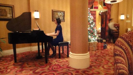 Terelj International Resort and Spa Hotel: Pianist