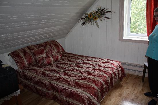 Domaine de nos Ancetres : Notre chambre à l'étage