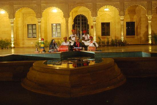Suryagarh: music at night