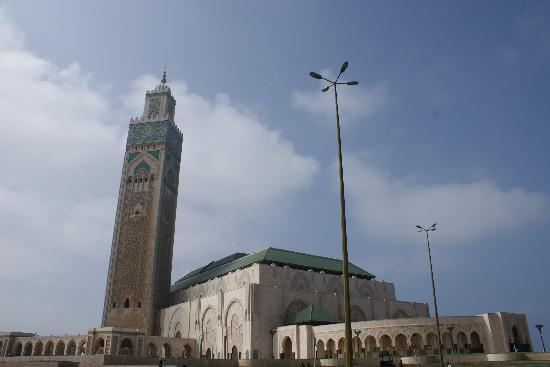 مسجد الحسن الثاني: Mesquita Hassan II