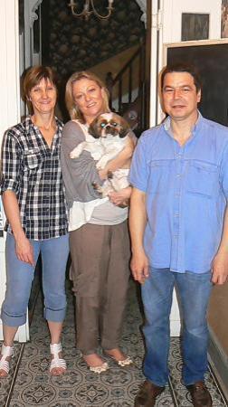 La Villa Saint Pierre: With the owners