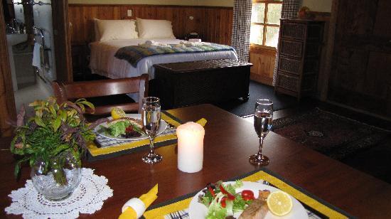 Tin Dragon Trail Cottages : Romantic studio cottage
