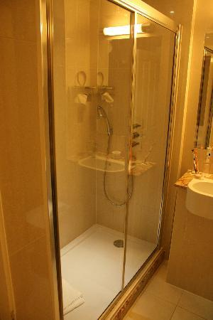 Park International Hotel: Spacious shower