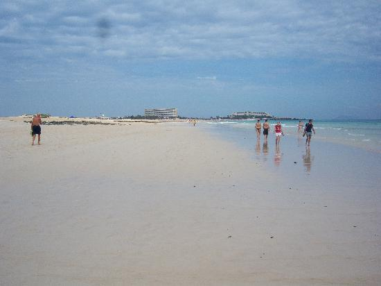 Parque Natural de Corralejo: Una delle spiagge