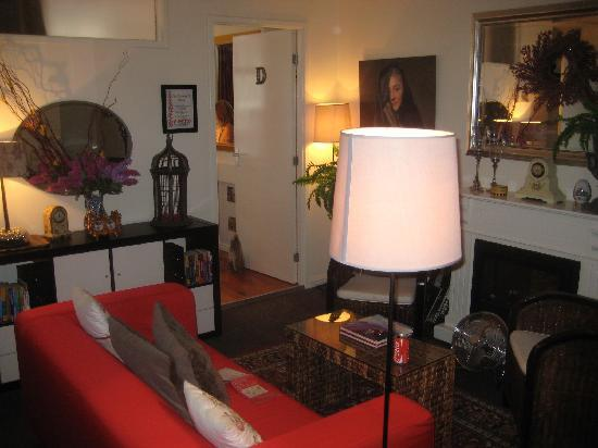 Boogaard's Bed and Breakfast: Lounge on first floor