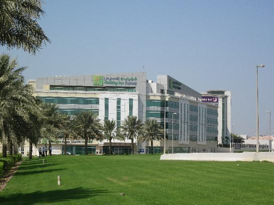 Holiday Inn Express Dubai Airport: The Hotel