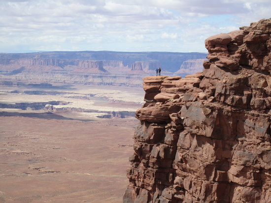 Parc national de Canyonlands, UT : Am Green River Overlook