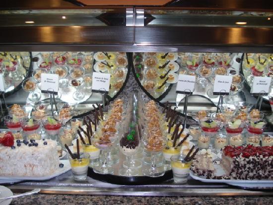 Hotel Riu Plaza Panama: buffet dulce