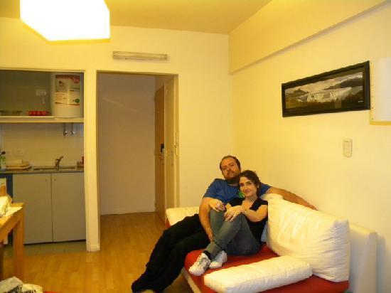 Callao Suites: La sala de estar del Departamento