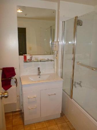 City Centre Motel: Bathroom