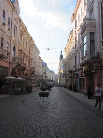 Chernivtsi, Ukraina: Street View Olha Kobylyahs June 2011