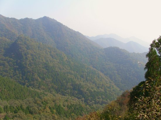 蓟县九龙山国家森林公园