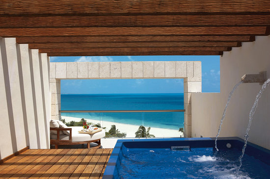 Excellence Playa Mujeres: Two-Story Rooftop Terrace Suite  Spa