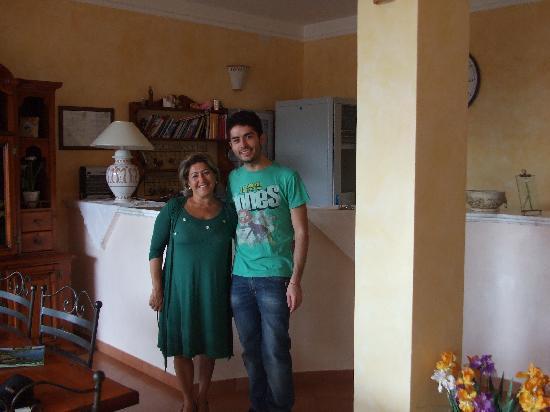 Hotel Relais du Silence Pian Delle Starze: Giovanni  (figlio del titolare)e me