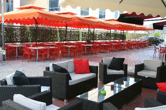 Rama Palace Hotel: esterno ristorante