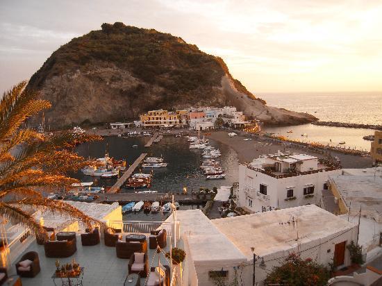 Hotel La Palma: vista dal terrazzo