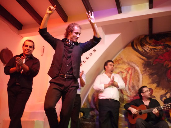 Tablao Flamenco Los Gallos: baile
