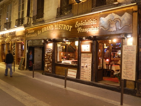 Le Grand Bistrot  Paris - Od U00e9on  Saint-michel