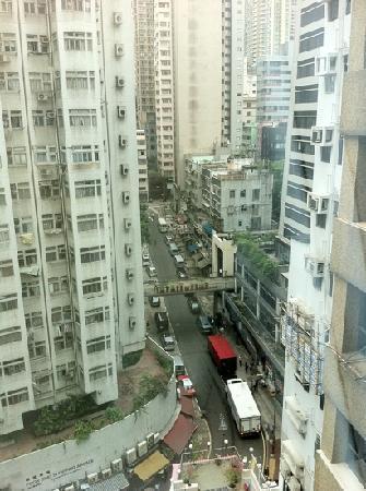 Sohotel: вид на улицу с 15 этажа