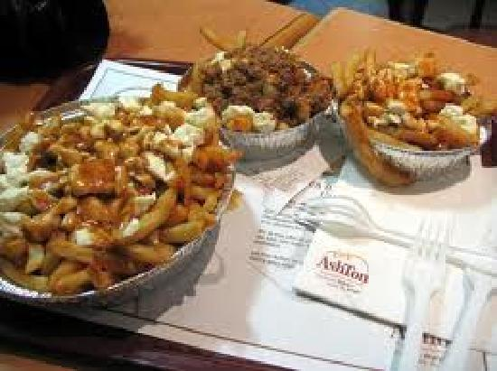 Famous Quebec Fast Food