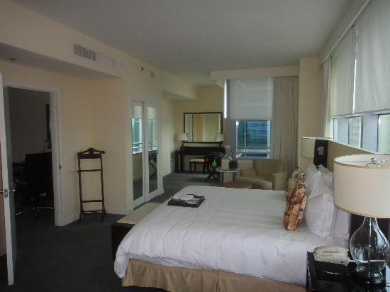 Bedroom of Conrad Miami Suite 2011