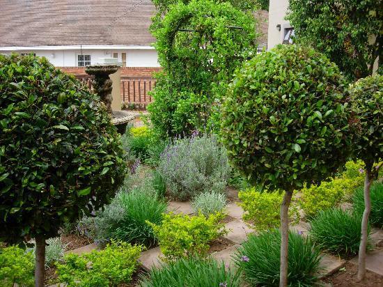 Bohemian House garden