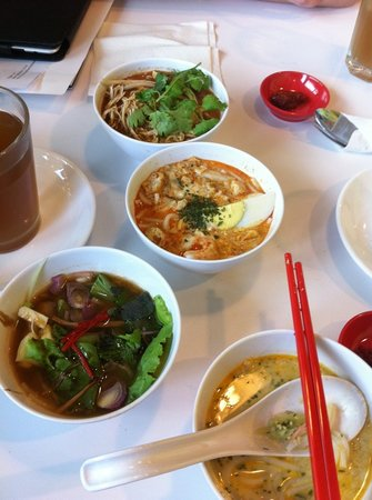 Laksania: I chose the mild Laksa dishes