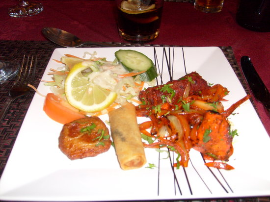 Brownhill Spice: Variety of starters