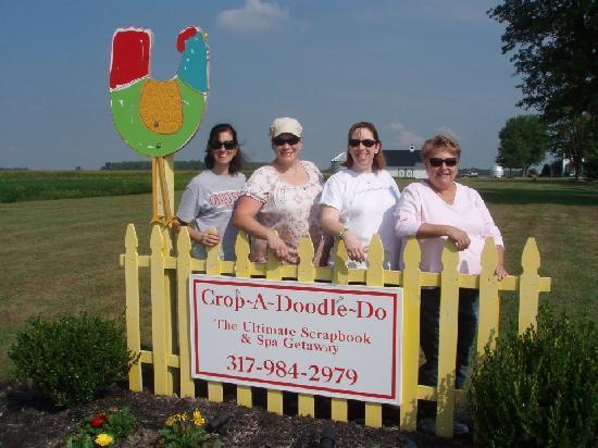 Crop-A-Doodle-Do: Friends at CADD