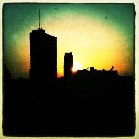 Center Chic Hotel Tel Aviv - an Atlas Boutique Hotel: roof with a view, sunset