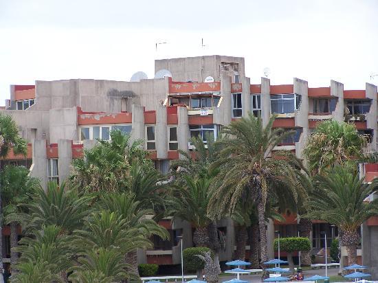 Annapurna Hotel Tenerife: Veiw from the coast