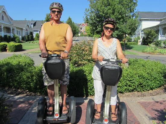 Segway of Jacksonville: learning to ride