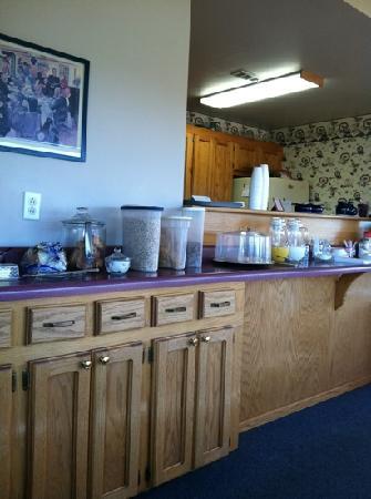 Cottonwood Inn : Continental Breakfast