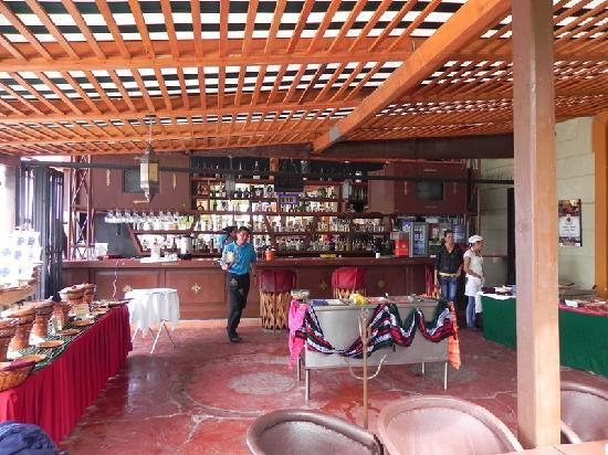 Beer Garden Restaurant Bar Brunch Setup
