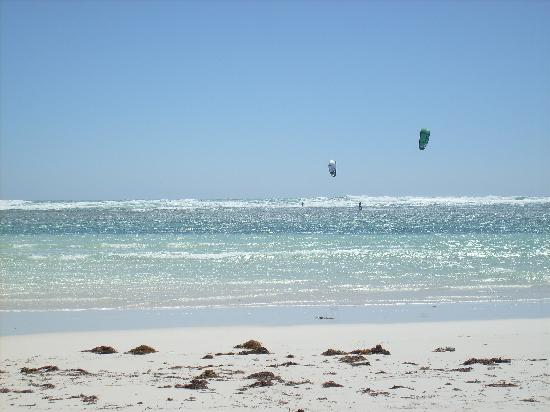 West Beach Lagoon: kite surf