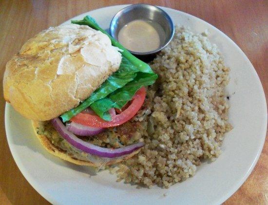 The Jones Eastside: Falafel Burger