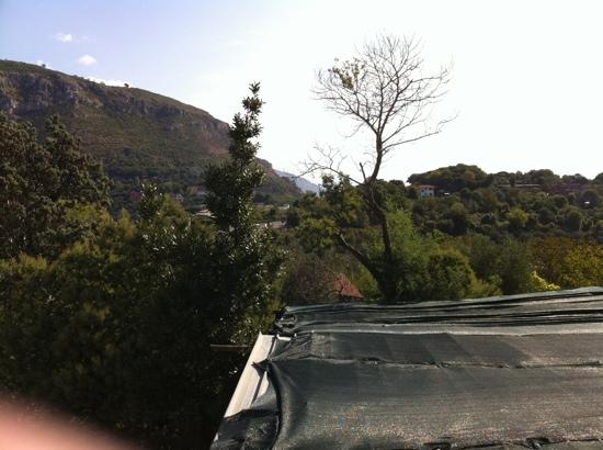 Grand Hotel Nastro Azzurro & Occhio Marino Resort: view from terrace