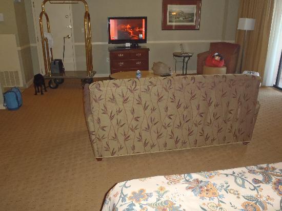 Hilton Ocala: Suite bedroom 2