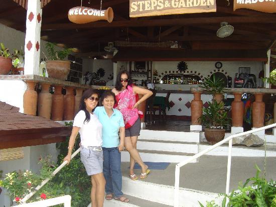 Steps Garden Resort : At the coffee shop of Steps & Garden