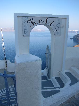Hotel Keti: Hotel Entrance