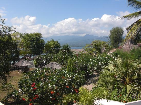 Sunrise Resort: view from balcony at Sunrise Gili Air