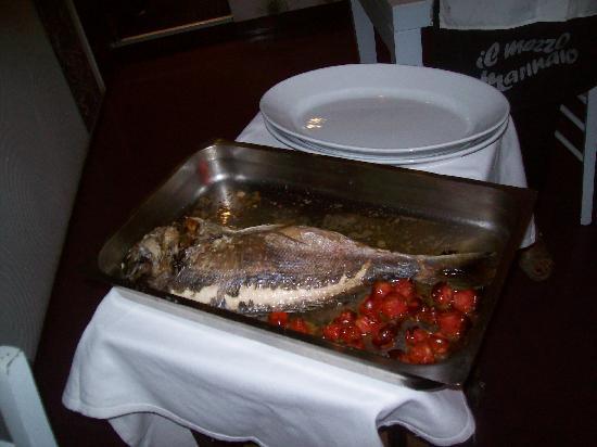 Ristorante Il MezzoMarinaio: Our Grilled fish