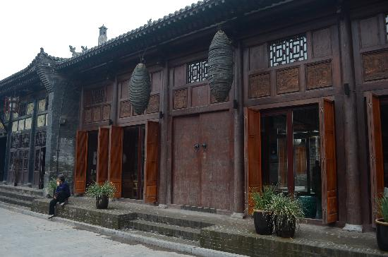 Jing's Residence: The entrance to Jing's