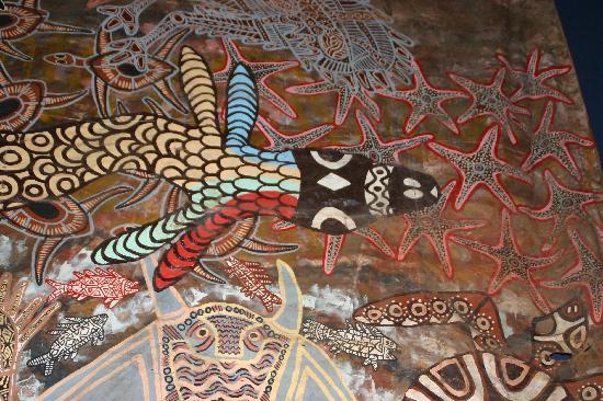 Tjapukai Aboriginal Cultural Park: Rainbow serpent