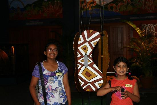 Tjapukai Aboriginal Cultural Park: Magic space