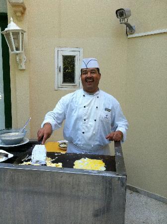 Nahrawess Hotel : la bonne omelette du matin pour ceux qui aime lol