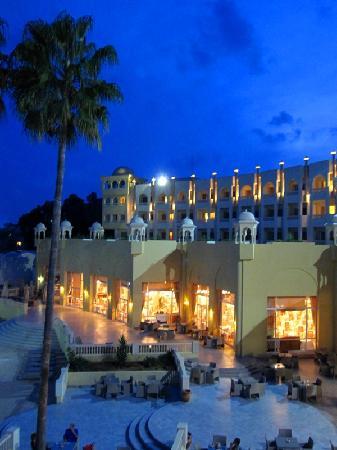 Hotel Palace Hammamet Marhaba: Esplanada