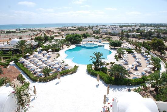 Palais des Iles Djerba Resort : Vue piscine
