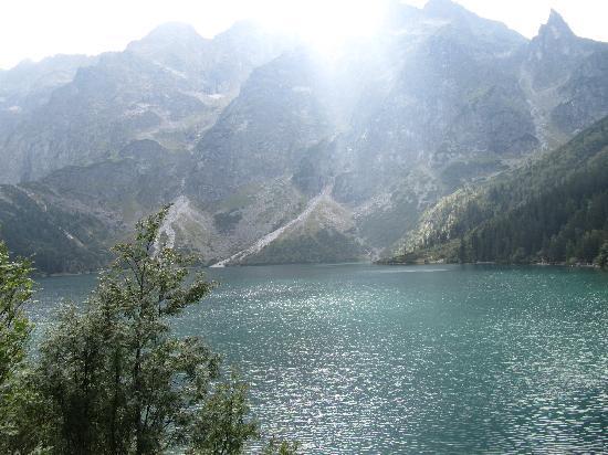 Tatra National Park, بولندا: VISTAS DEL LAGO