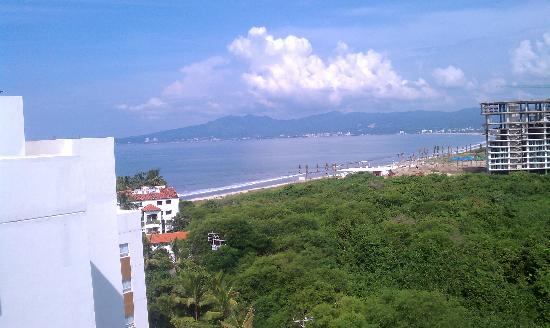 Marival Residences Luxury Resort Nuevo Vallarta: view from the top floor penthouse balcony